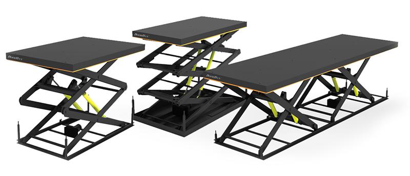 Гидравлические подъемные столы
